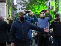 جشن میلاد در خیابان +عکس