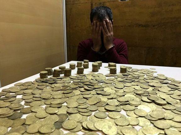 کشف 1300سکه عتیقه از مسافران مترو در تهران +عکس
