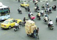 تردد موتورسواران در روزهای بارانی ممنوع است