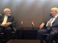 گفتوگوی ظریف با ولید معلم و تأکید بر ادامه روابط ایران و سوریه