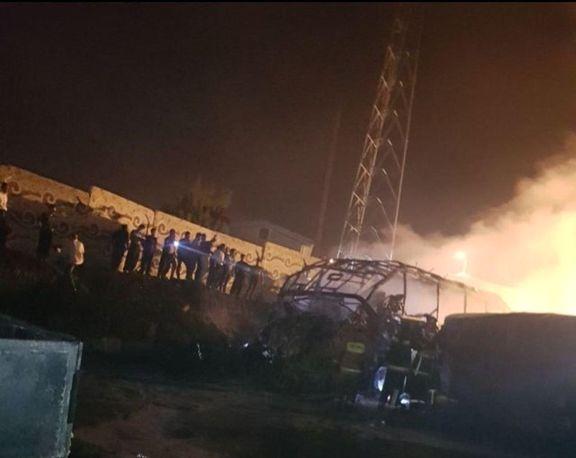 11کشته و 9زخمی در حادثه ترمینال سنندج