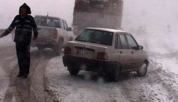 برف و کولاک در 11استان کشور