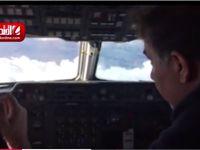 بررسی منطقه سقوط هواپیمای آسمان +فیلم