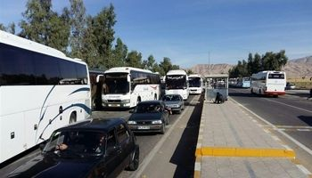 ترافیک سنگین در محورهای مهران و ایلام