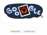سیاهچاله لوگو گوگل شد! +عکس