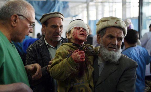 ۴۰ کشته و ۱۵۰ زخمی در انفجار کابل