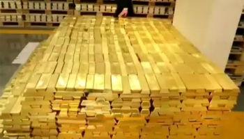 ادامه کاهش قیمت در بازار جهانی طلا