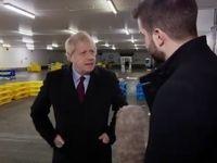نخست وزیر انگلیس موبایل یک خبرنگار را توقیف کرد! +فیلم