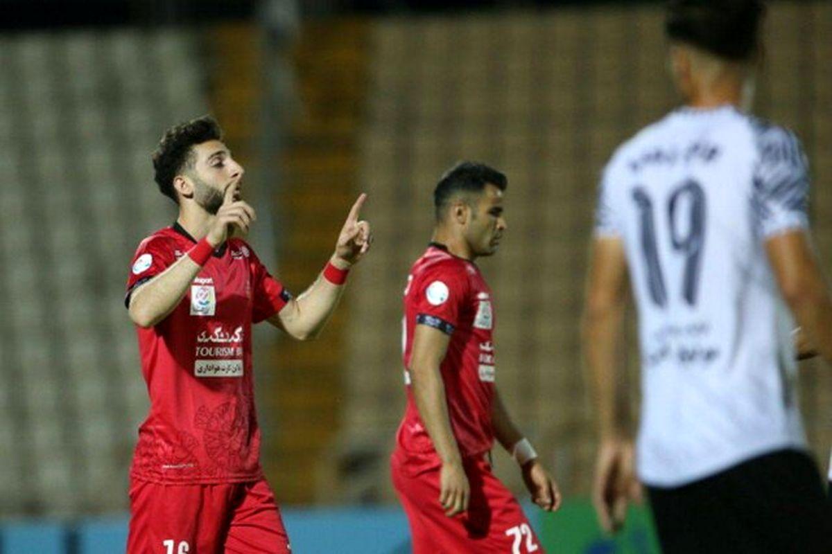 پرسپولیس به یک چهارم نهایی جام حذفی رسید