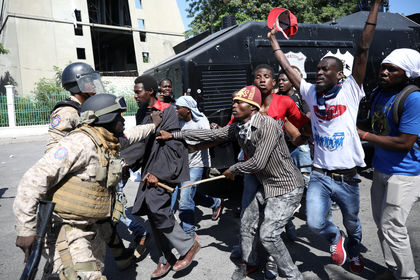 تظاهرات خونین در هائیتی +تصاویر