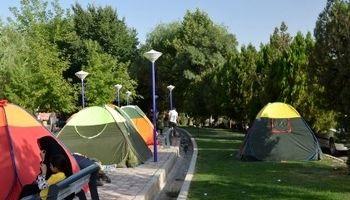 گردشگری چادری به روایت تصاویر