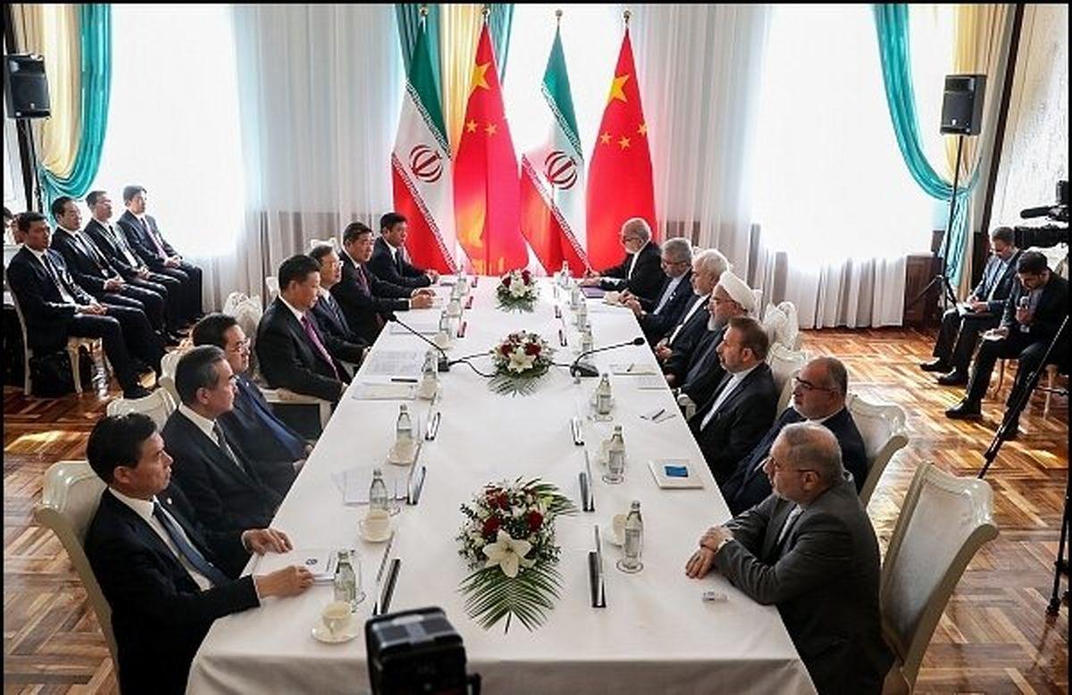 روحانی: روابط با چین همواره برای ایران راهبردی بوده و خواهد بود/ ایستادگی  ایران و چین در برابر یکجانبه گرایی آمریکا به نفع آسیا و جهان است