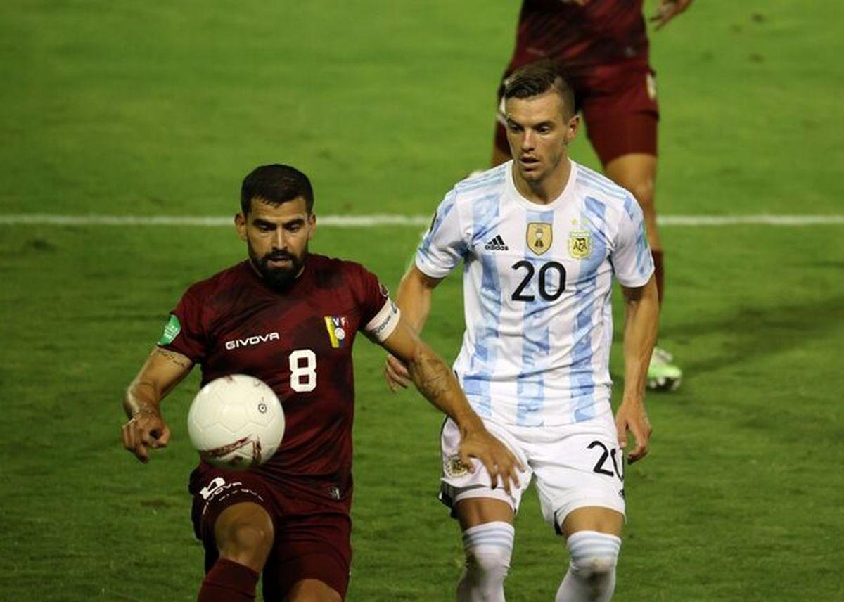 پیروزی آرژانتین و برزیل در انتخابی جام جهانی۲۰۲۲