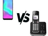 تلفن بیسیم یا موبایل؟ مساله هزینه است؟