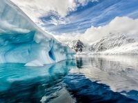ذوب شدن ۱۰ میلیارد تن یخ طی ۲۴ ساعت +فیلم