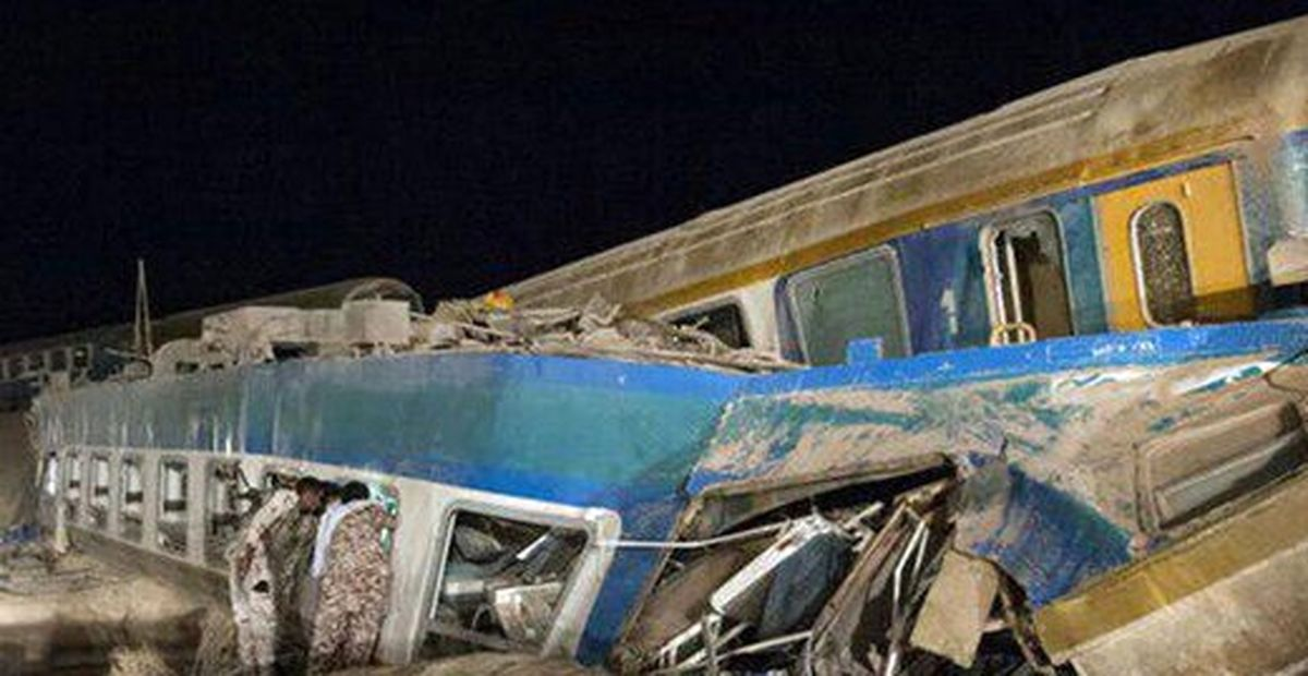 فوت یک مهماندار در حادثه قطار زاهدان +عکس