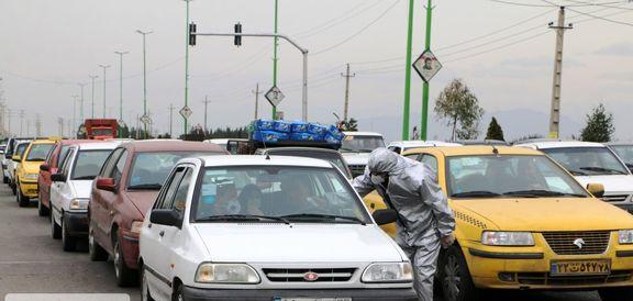 ترافیک سنگین در محورهای تهران ـ کرج و تهران ـ لواسان