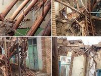 قطع برق و خطوط مخابرات چندین روستای غرب اصفهان