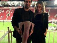 عروسی فوتبالیست ایرانی با دختری میلیاردر