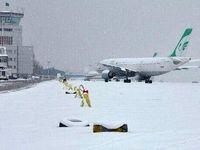 پروازها در فرودگاه مشهد متوقف شد