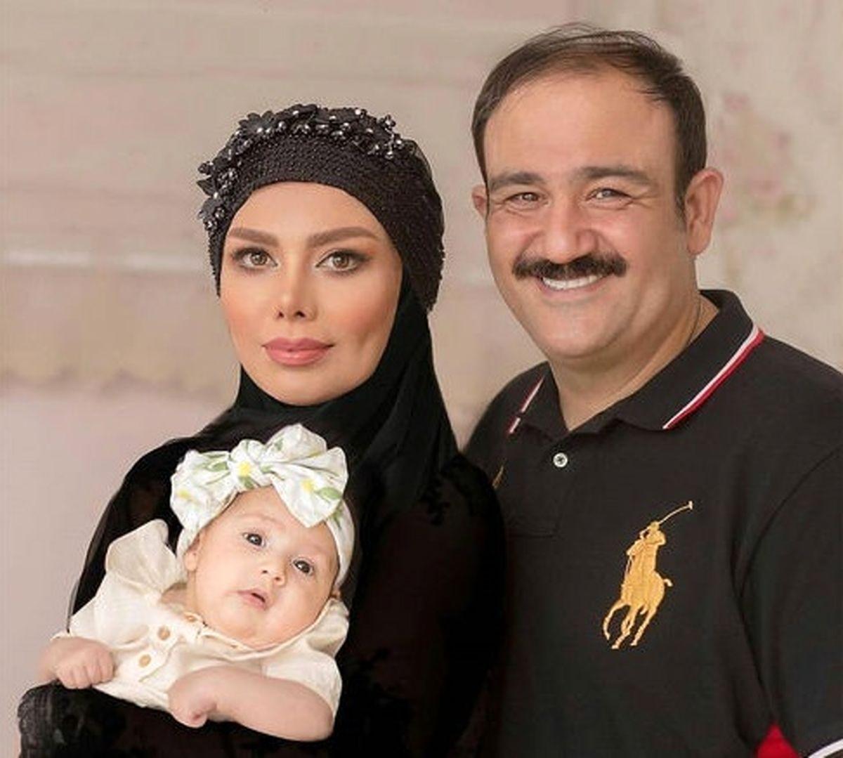 عکس جدید مهران غفوریان در کنار همسرش