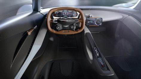 جدیدترین خودروی آستون مارتین در سری جدید فیلم جیمزباند