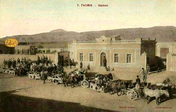 گمرک تبریز در دوره قاجار +عکس