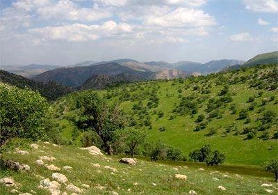 طبیعت زیبای چرداول در ایلام