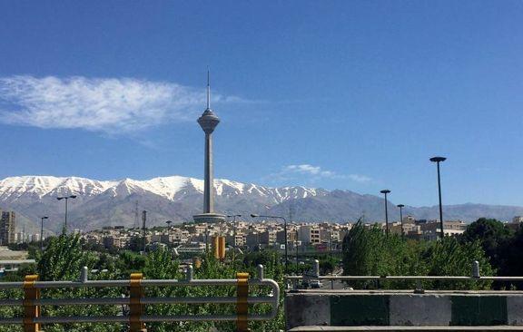 ۲۵ روز هوای پاک، سهم تهران از ابتدای امسال