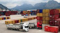 تمام واگنهای کالای صادراتی متوقف در اینچه برون به ترکمنستان رسید