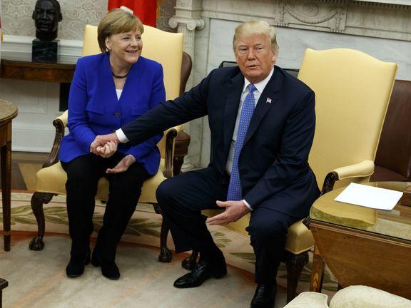 ترامپ و مرکل در مورد غرب آسیا گفتوگو کردند