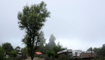 خنکای مه در برهسر رودبار +تصاویر
