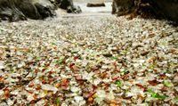 ساحل شیشهای +تصاویر