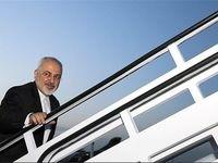 ظریف تهران را به مقصد داکار ترک کرد