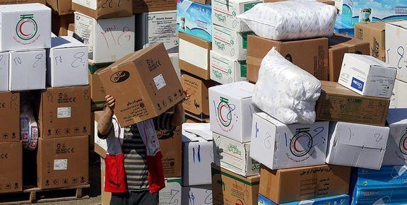 ارسال اولین محموله کمکهای اهدایی عمان به ایران
