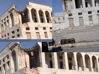 آسیب ساختمان تاریخی گمرک قدیم دیّر در پی زلزله +عکس