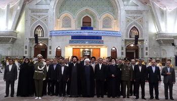 روحانی: از تهدیدات و توطئههای خارجی باکی نداریم/ از ۴سال گذشته برای حلمشکلات مردم، امیدوارتر هستیم