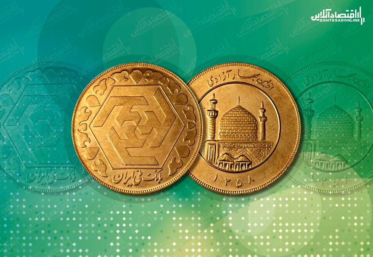 سکه ۷۰۰هزار تومان گران شد (ظهر ۱۳۹۹/۴/۱۸)