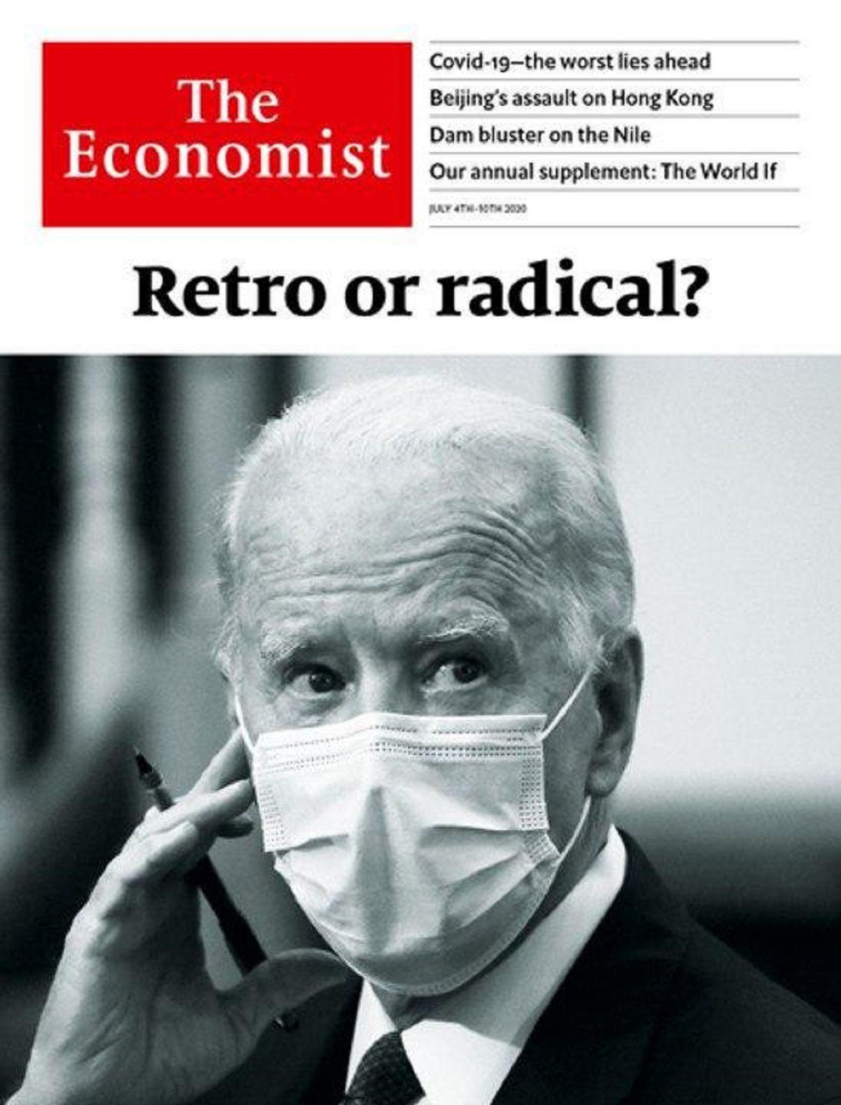 """""""محافظه کار یا رادیکال؟"""" روی جلد اکونومیست"""