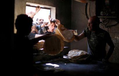 ویرانههای خط مقدم شهر حلب