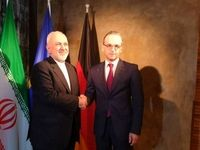 وزرای خارجه ایران و آلمان دیدار کردند +عکس