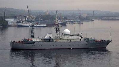 ناو تجسسی روسیه به سواحل آمریکا رسید