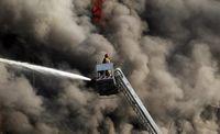 ۳۰ دی ۱۳۹۵؛ آتشسوزی و ریزش ساختمان پلاسکو +تصاویر