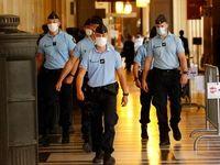 جریمه 135یورویی برای ماسک نزدن در فرانسه