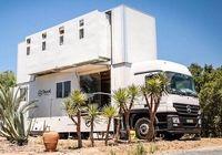 تبدیل کامیون مرسدس بنز به هتل لوکس +فیلم