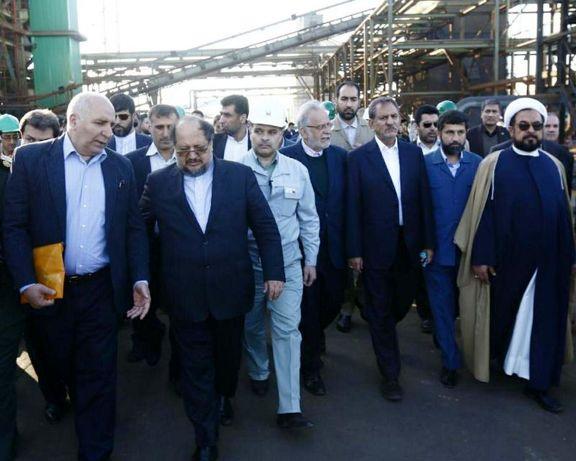 جهانگیری: انحصار فناوری آهن اسفنجی از اختیار آمریکا خارج شد/ خوزستان امروز مرکز صنعت انرژی کشاورزی و آب ایران است