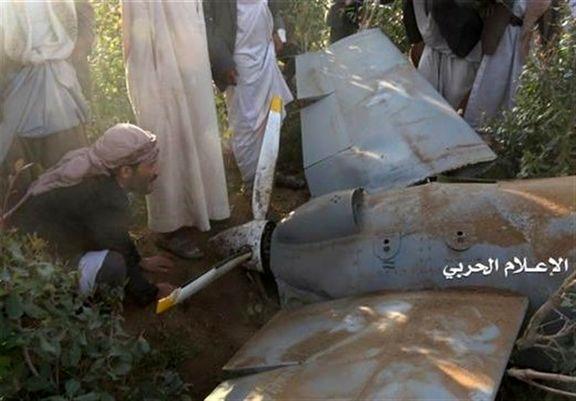 پدافند هوایی یمن، پهپاد آمریکایی را منهدم کرد