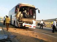 تصادف اتوبوس زائران اصفهانی اربعین در لرستان