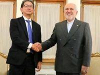 دیدار مقام وزارت خارجه ژاپن با ظریف