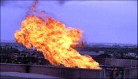 انفجار در خط لوله گازی مصر